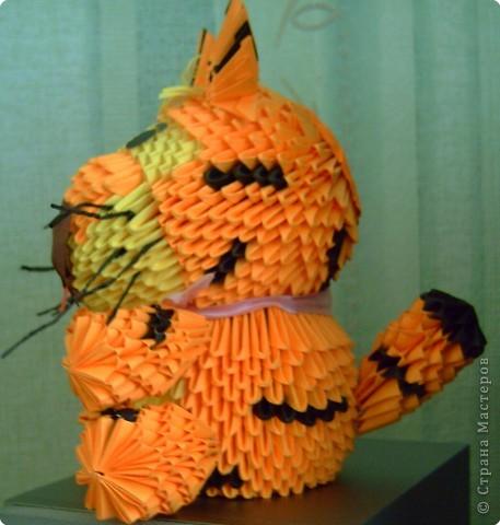Оригами модульное: Вот и мой символ года готов! фото 2