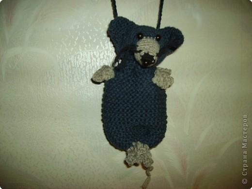 Такую крысу я связала крючком и подарила Крамаренко Галине Ивановне на День рождения. Она родилась год Крысы.