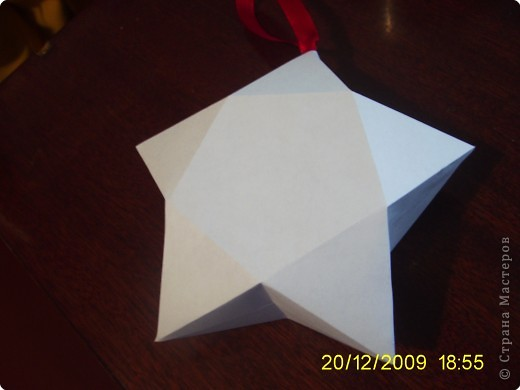 Аппликация, Бумагопластика: Объёмная звезда! фото 3