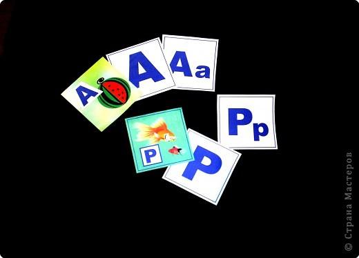Когда мой сынишка начал подрастать, я сделала для него вот такую азбуку.  фото 3