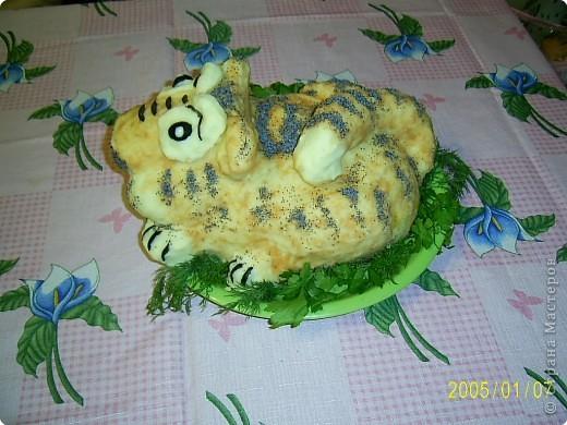 Это тигрик с мясом по рецепту Ли Ле Ки, спасибо ей большое! фото 2