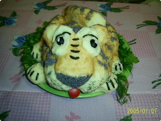 Это тигрик с мясом по рецепту Ли Ле Ки, спасибо ей большое! фото 1