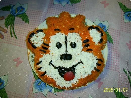 Это тигрик с мясом по рецепту Ли Ле Ки, спасибо ей большое! фото 5