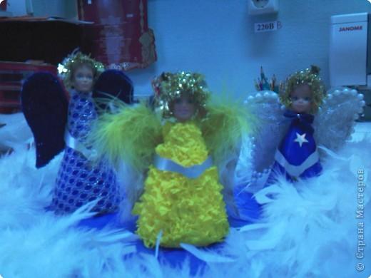 вот такие вот ангелы у нас получились... фото 2