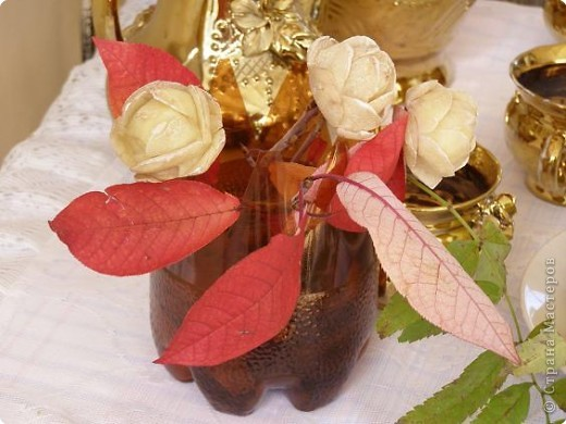 Карвинг: Розы из картофеля