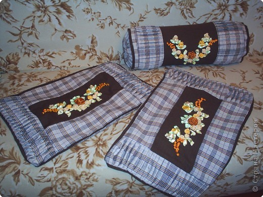Вышивка: Вышивка шелковыми лентами фото 1