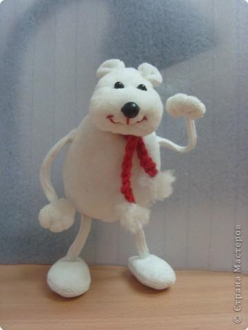 Шитьё: Белый медведь фото 1