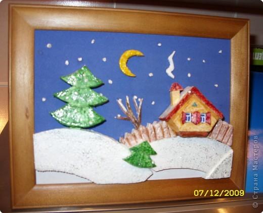 Картина своими руками из пенопласта фото