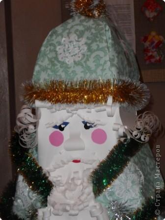 Дед Мороз - интерьерная кукла фото 1