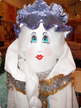 Дед Мороз - интерьерная кукла фото 2