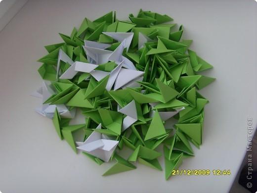 Мастер-класс Оригами китайское модульное Вот и мой цветочек МК Бумага фото 2
