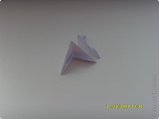 Мастер-класс Оригами китайское модульное Вот и мой цветочек МК Бумага фото 3