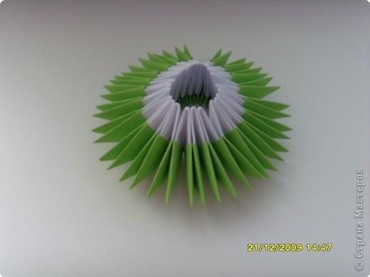 Мастер-класс Оригами китайское модульное Вот и мой цветочек МК Бумага фото 7