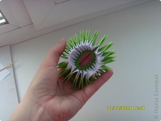 Мастер-класс Оригами китайское модульное Вот и мой цветочек МК Бумага фото 8
