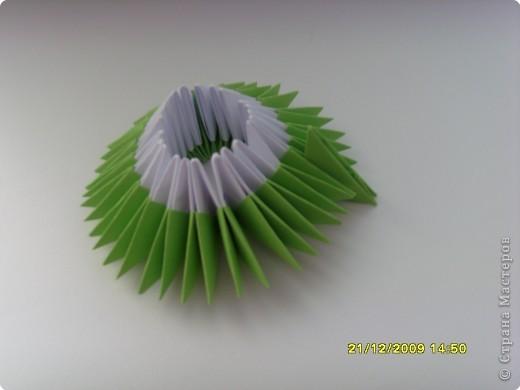 Мастер-класс Оригами китайское модульное Вот и мой цветочек МК Бумага фото 10