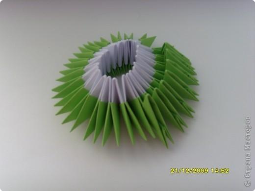 Мастер-класс Оригами китайское модульное Вот и мой цветочек МК Бумага фото 11