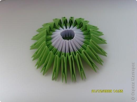 Мастер-класс Оригами китайское модульное Вот и мой цветочек МК Бумага фото 12