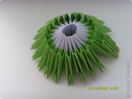 Мастер-класс Оригами китайское модульное Вот и мой цветочек МК Бумага фото 13