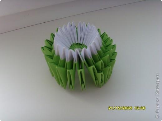Мастер-класс Оригами китайское модульное Вот и мой цветочек МК Бумага фото 14