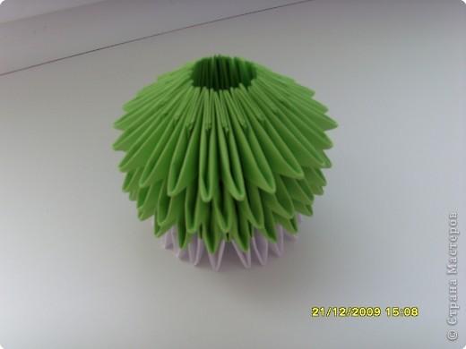 Мастер-класс Оригами китайское модульное Вот и мой цветочек МК Бумага фото 16
