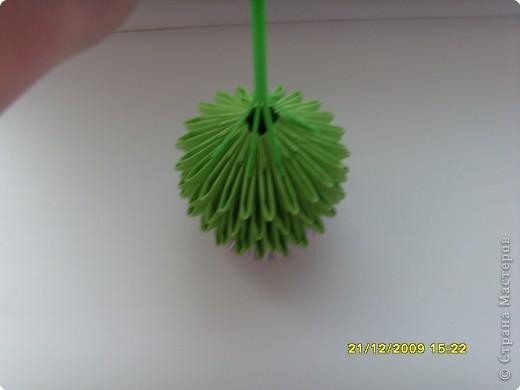 Мастер-класс Оригами китайское модульное Вот и мой цветочек МК Бумага фото 19