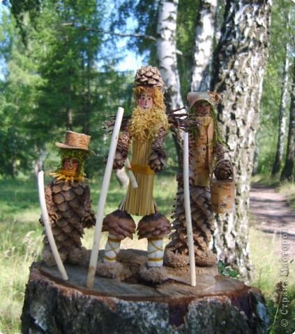 Семья лесовичков