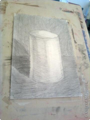 Рисование и живопись: Цилиндр!!!