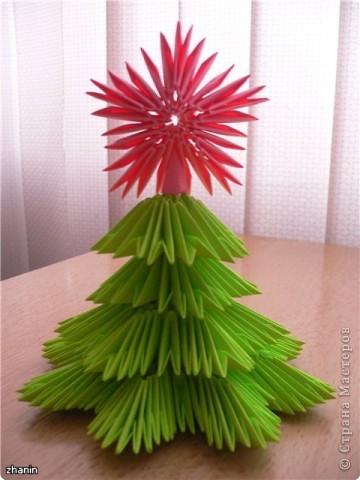 Оригами модульное: Елочка!