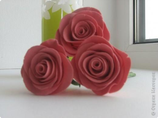 Розы в стакане фото 2