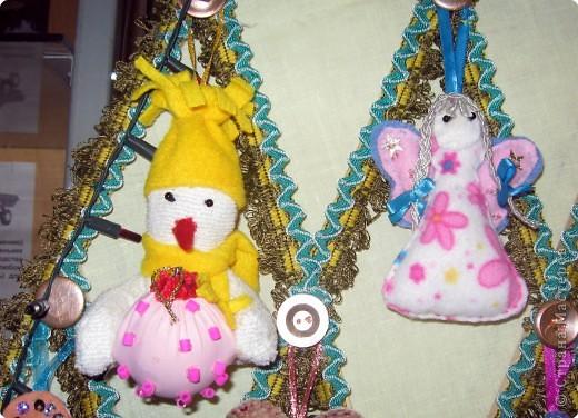 Шитьё: Новые игрушки на старой ёлке. фото 4