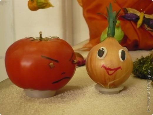 """Поделки были сделаны для конкурса на тему """"Осенняя фантазия"""". Павлины сделаны из гриба, который растет на дереве. фото 8"""