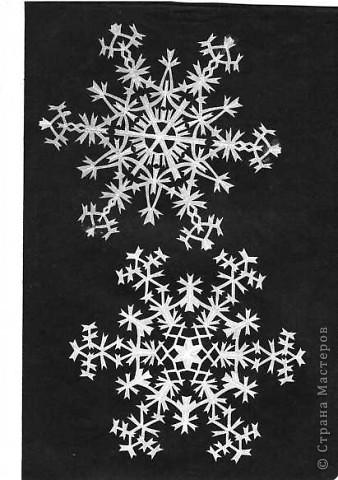 Вырезание: Снежинки фото 1