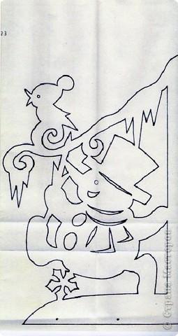 Поделка изделие Новый год Вырезание Новогодние вытынанки Бумага фото 3