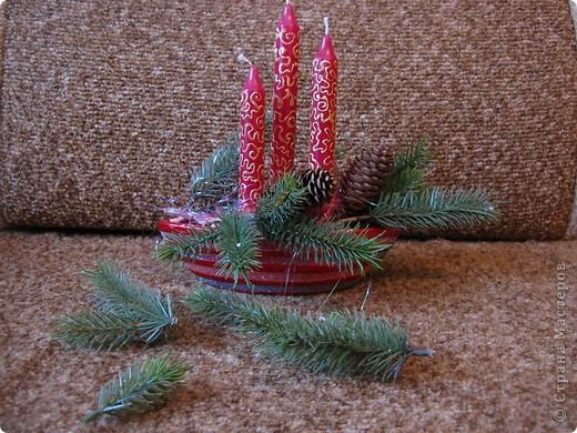 Предлагаю вашему вниманию еще один МК по созданию новогодней композиции. фото 6