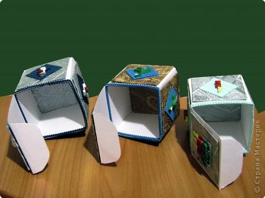 Новогодние коробочки для подарков фото 3