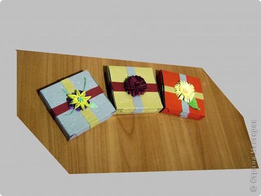 Новогодние коробочки для подарков фото 5