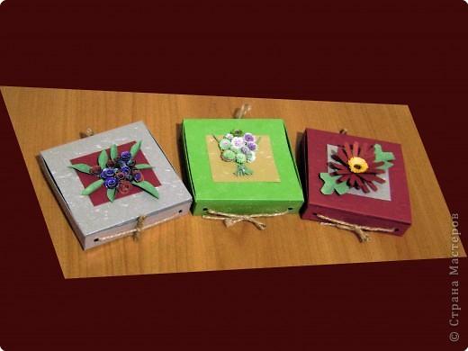 Новогодние коробочки для подарков фото 7
