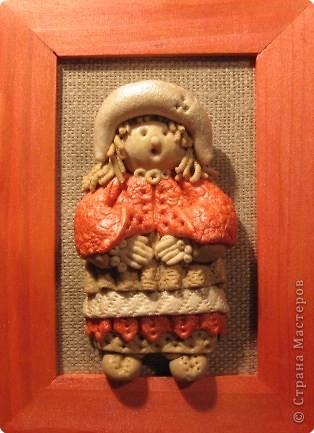 кукла из соленого теста фото 5