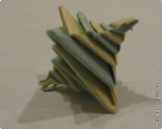 Оригами: Спираль-оригами фото 1