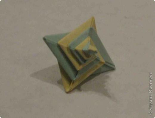 Оригами: Спираль-оригами фото 2
