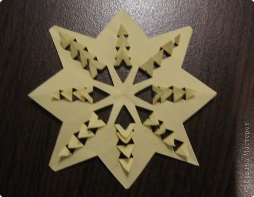 Бумагопластика: Снежинки фото 2