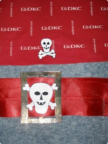 В садике костюм пирата был, сказали принести бандану и пояс. Вот сделала, как смогла))) фото 3