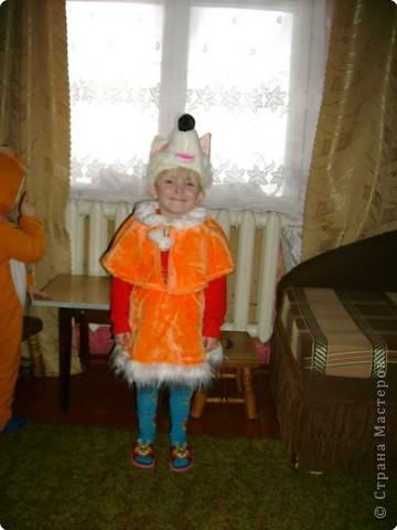 Света-снежинка,Кирилл-зайчонок. фото 6