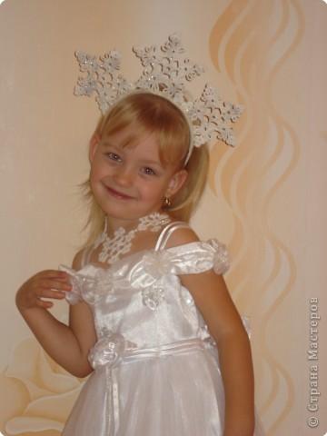 Такой костюм сделала дочке на Новый год. фото 2