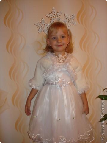 Такой костюм сделала дочке на Новый год. фото 1