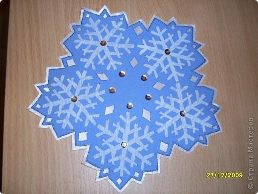 """Гильоширование: """"Снежная нежность""""(набор салфеток) фото 2"""