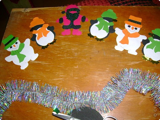 Здесь и Дед Мороз,и Снеговики,иПингвинчики. фото 1