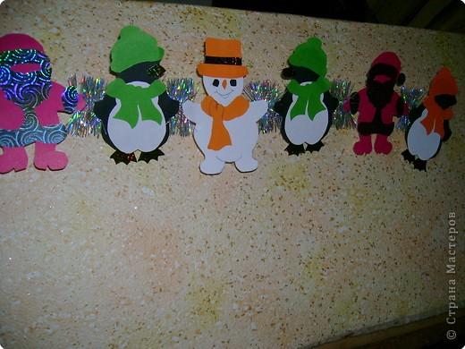 Здесь и Дед Мороз,и Снеговики,иПингвинчики. фото 2