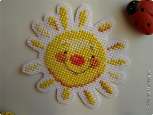 Вышивка крестом солнышко Нитки