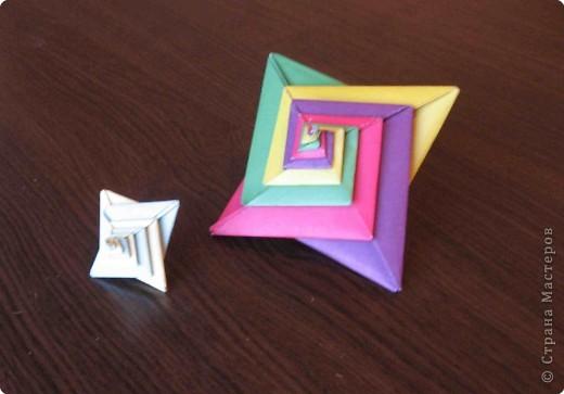 Оригами: Спираль-оригами фото 3